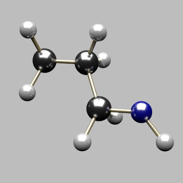 Propanol Molecule - 3DOcean Item for Sale