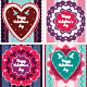 Valentine Greeting Cards  - GraphicRiver Item for Sale