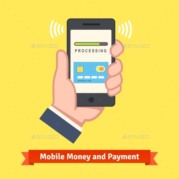 Mobile Banking Concept - Web Technology