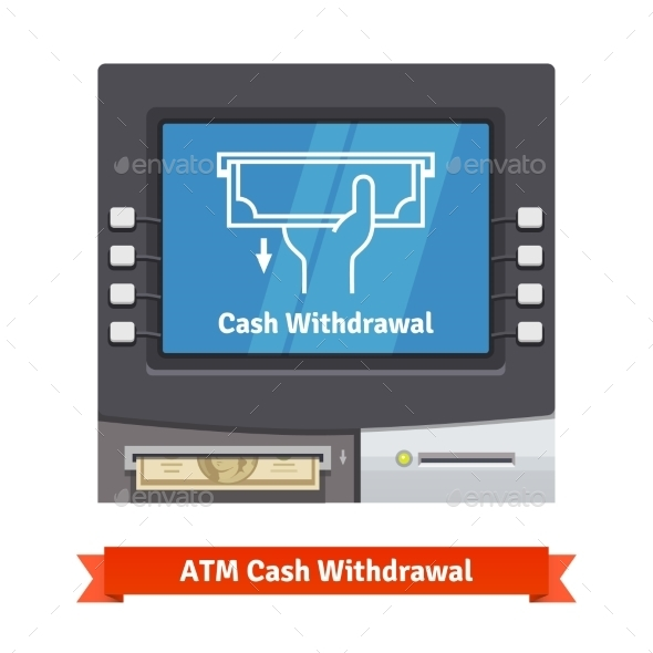 ATM Machine With Current Operation - Objects Vectors