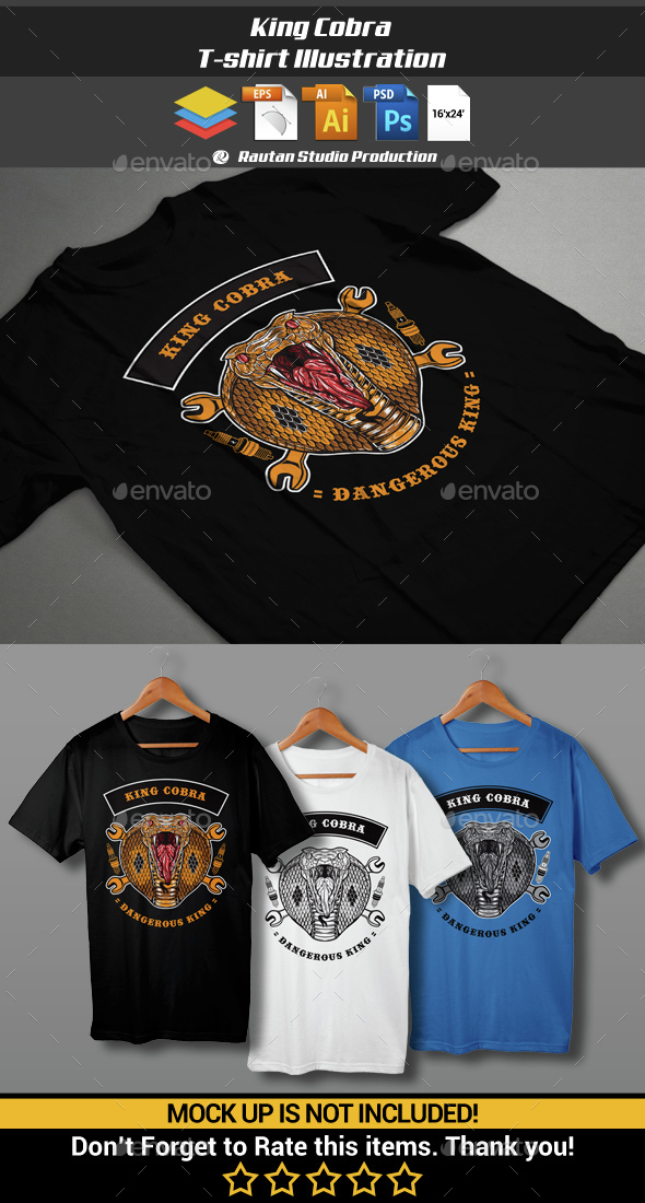 King Cobra - Sports & Teams T-Shirts