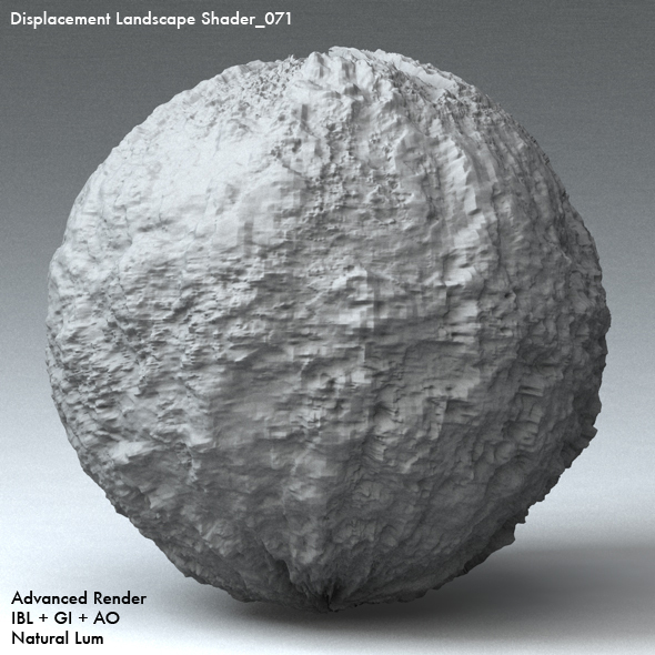 Displacement Landscape Shader_071 - 3DOcean Item for Sale