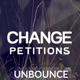 Change - Petitions Responsive Unbounce Template - ThemeForest Item for Sale
