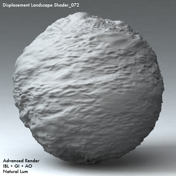 Displacement Landscape Shader_072 - 3DOcean Item for Sale