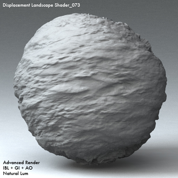 Displacement Landscape Shader_073 - 3DOcean Item for Sale