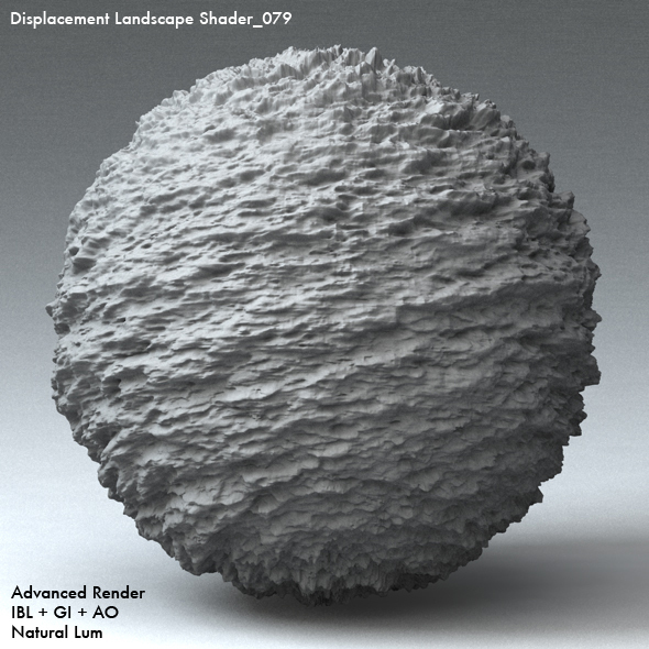 Displacement Landscape Shader_079 - 3DOcean Item for Sale