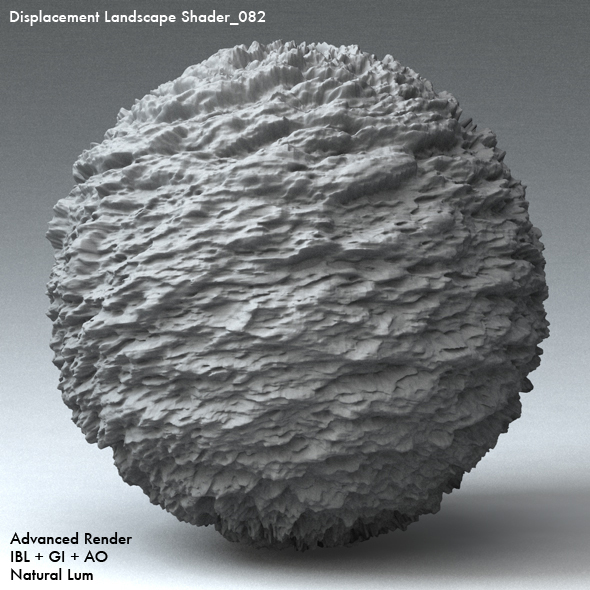 Displacement Landscape Shader_082 - 3DOcean Item for Sale