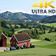 Norwagian Village Farm, Near Oslo, Norway - VideoHive Item for Sale