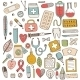 Health Care And Medicine Elements Set - GraphicRiver Item for Sale