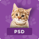 Pet & Shop | Premium Pet Care PSD Template - ThemeForest Item for Sale
