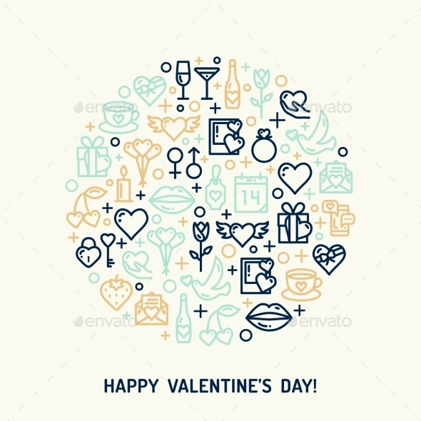 Valentines Day And Wedding Icons - Valentines Seasons/Holidays