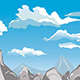 Blue Sky Mountains Background - GraphicRiver Item for Sale