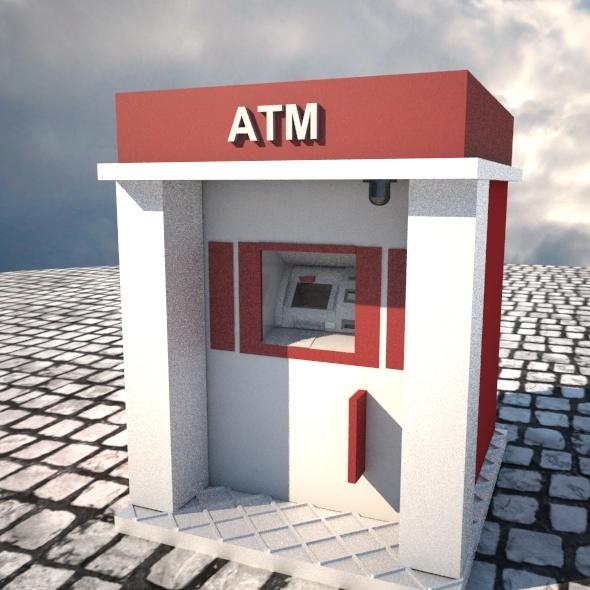 ATM - 3DOcean Item for Sale