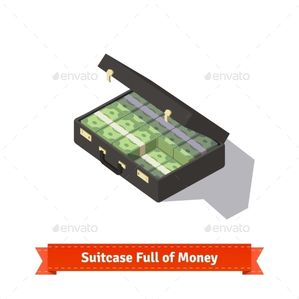 Suitcase Full Of Money - Concepts Business