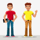 Young Boys - GraphicRiver Item for Sale