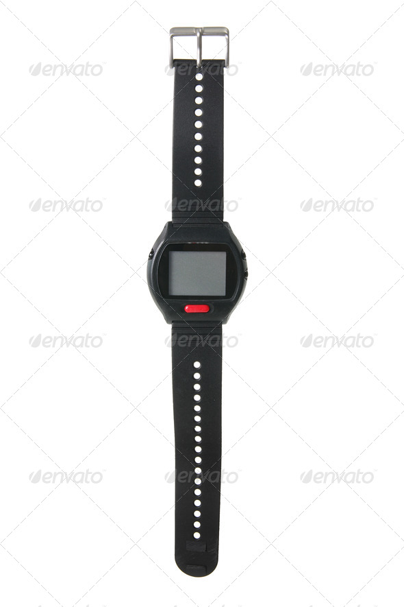 Digital Watch - Stock Photo - Images