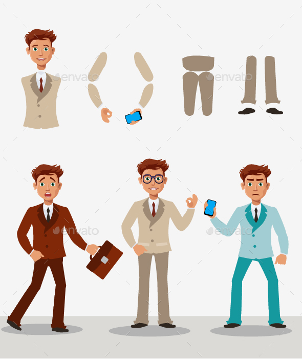 Business Boy - People Characters