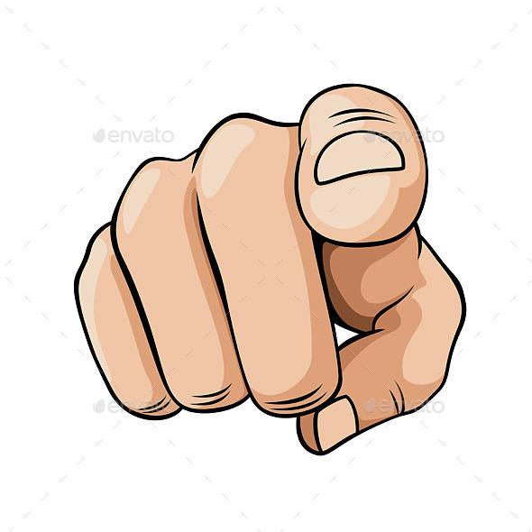 Pointer Finger - Miscellaneous Vectors