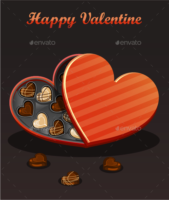Valentine Chocolates - Valentines Seasons/Holidays