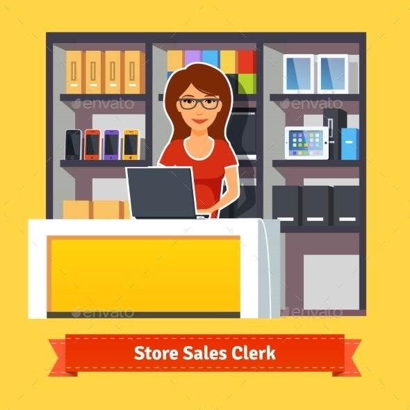 Pretty Woman Shop Assistant - Retail Commercial / Shopping