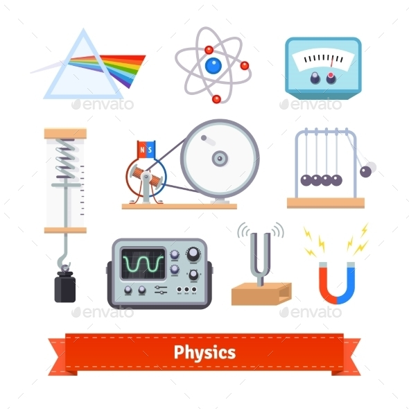 Physics Classroom Equipment - Man-made Objects Objects