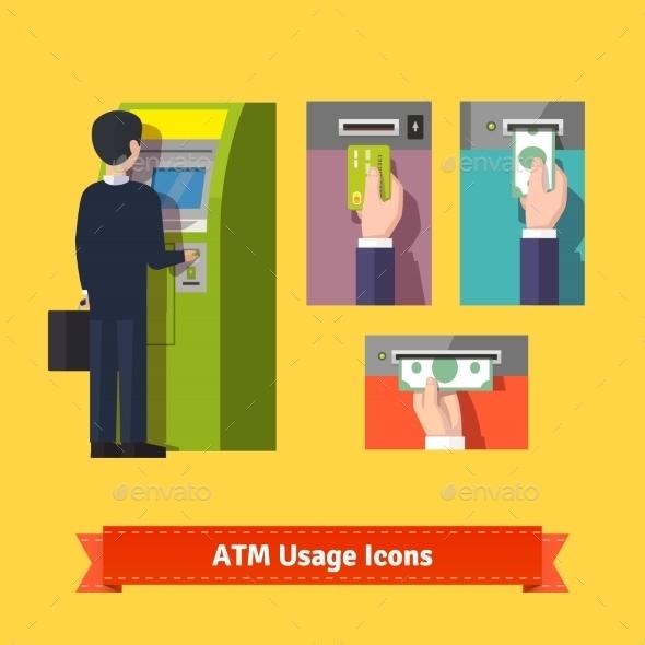 ATM Machine Deposit - Concepts Business