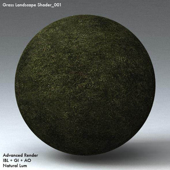 Grass Landscape Shader_001 - 3DOcean Item for Sale