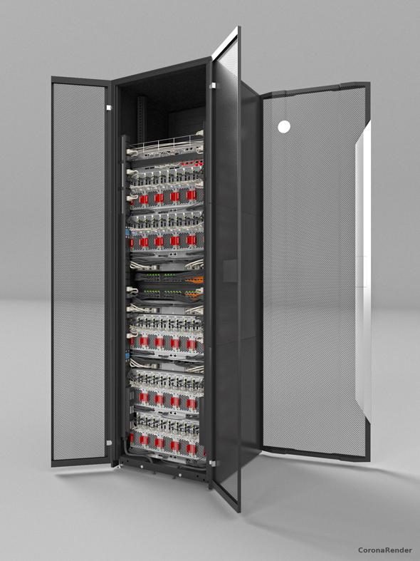 Server Rack - 3DOcean Item for Sale