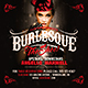 Burlesque Flyer Template - GraphicRiver Item for Sale