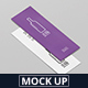 A6 Long Flyer Mock-Up - GraphicRiver Item for Sale
