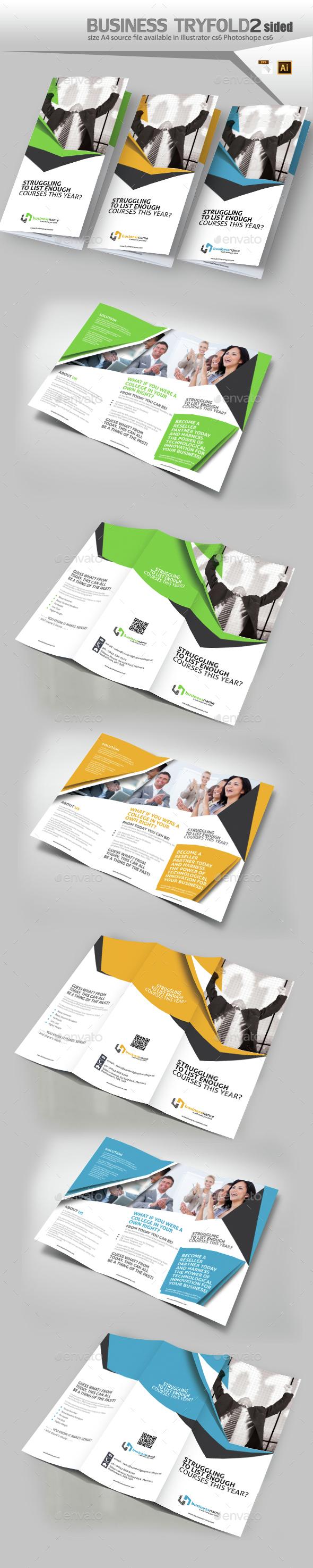 Corporate Three Fold Brochure  - Corporate Brochures