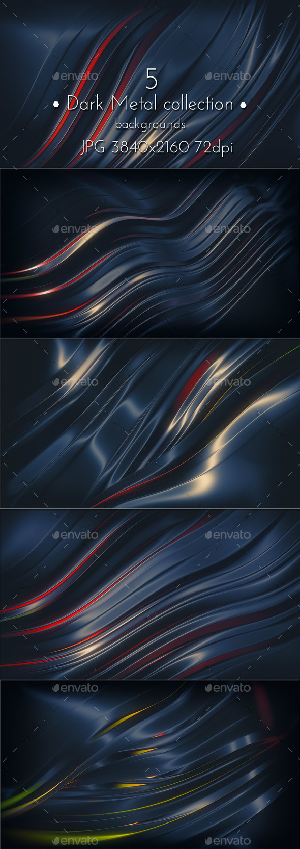 Dark Metal - Abstract Backgrounds