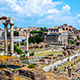 Roman Forum in Rome, Italy - VideoHive Item for Sale