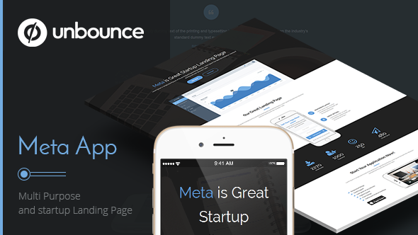 Meta app - Unbounce Landing Page - Unbounce Landing Pages Marketing