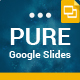 Pure Google Slides Presentation Template - GraphicRiver Item for Sale