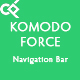 Komodo Force Navigation Bar