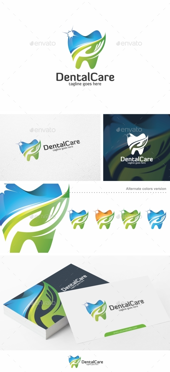 Dental Care / Teeth - Logo Template - Objects Logo Templates