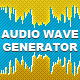 Realistic Audio Wave Generator - GraphicRiver Item for Sale