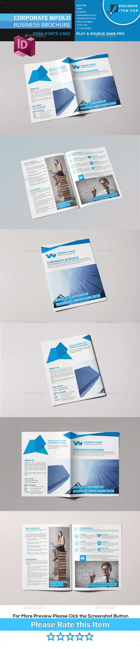Bifold Business Brochure VOL-03 - Corporate Brochures