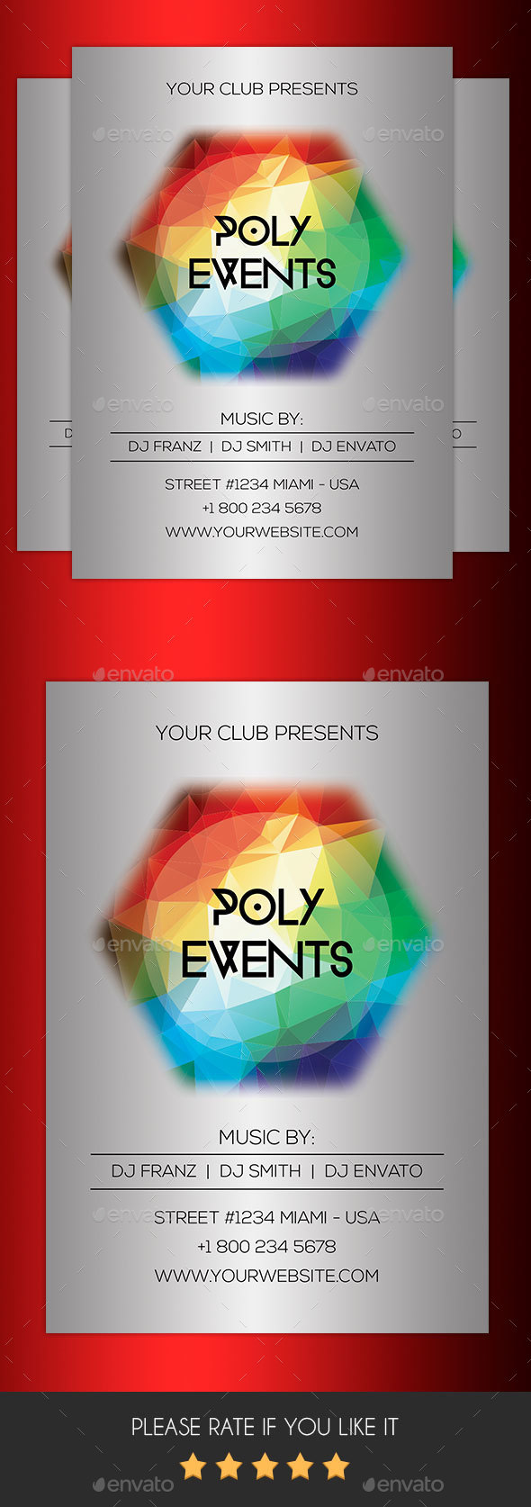 Poly Events Flyer - Events Flyers