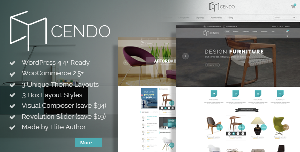 VG Cendo – WooCommerce WordPress Theme for Furniture Stores