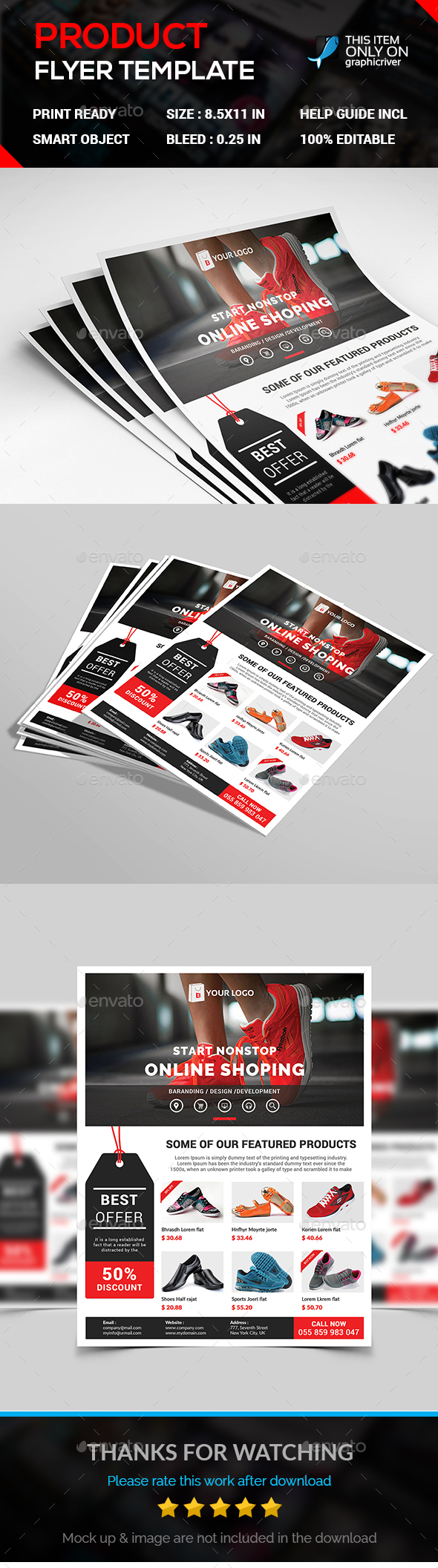 Product Flyer - Flyers Print Templates
