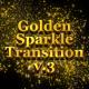 Golden Sparkle Transition V3 - VideoHive Item for Sale