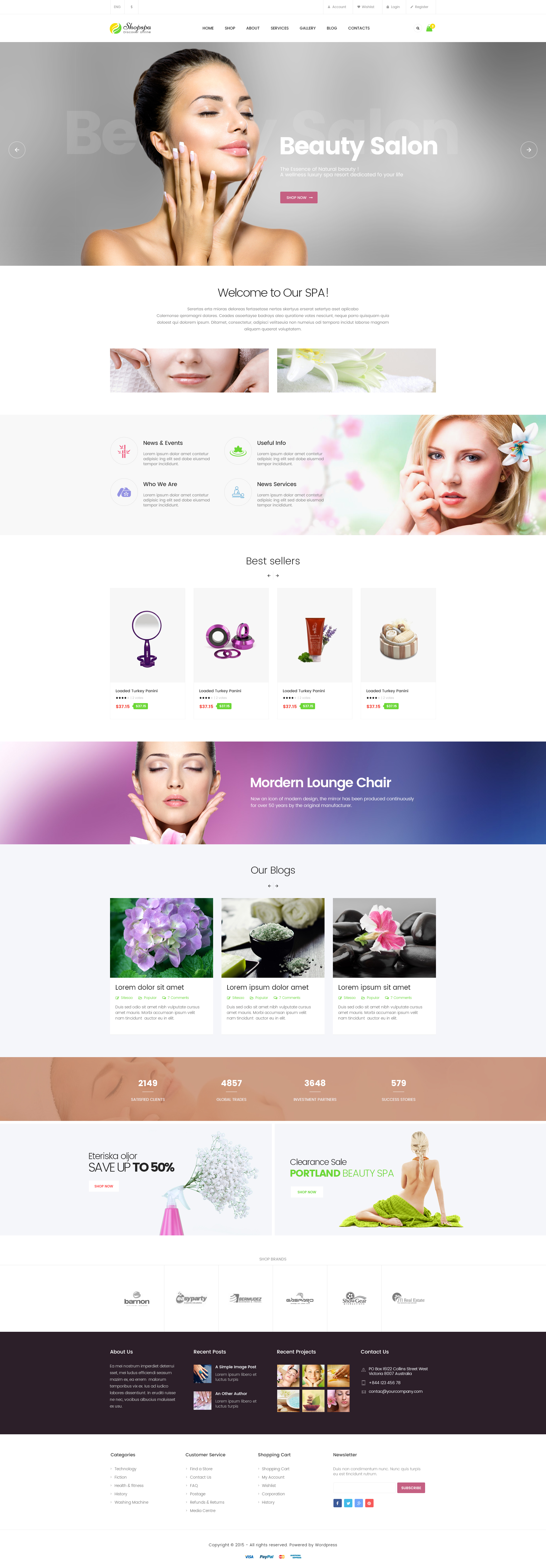 pav shopspa responsive opencart theme for spa beauty salon download zip template free free. Black Bedroom Furniture Sets. Home Design Ideas
