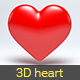 3D Heart  - 3DOcean Item for Sale