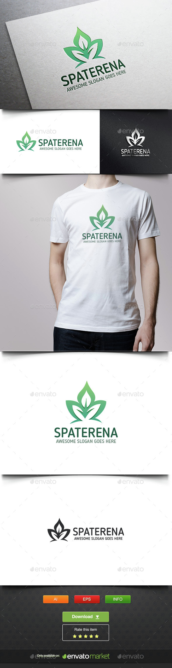 Leaf for Life - Nature Logo Templates