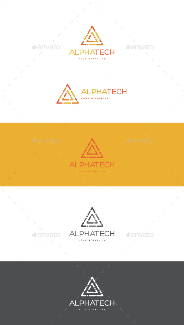 Alpha Tech Logo - Letters Logo Templates