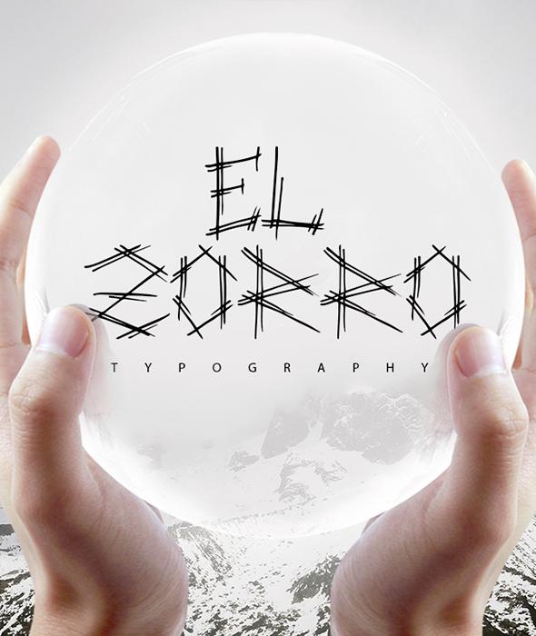 El Zorro Script Typeface - Script Fonts