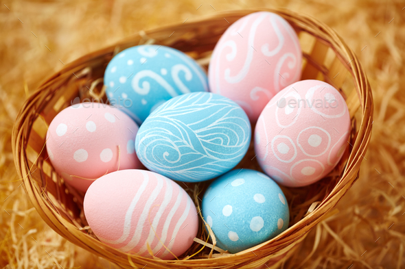 Symbols of Easter - Stock Photo - Images
