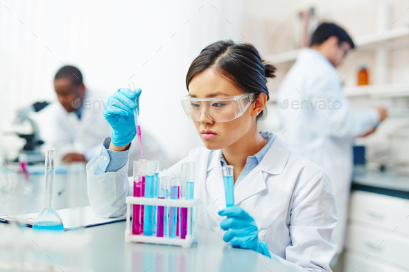 Laboratory experiment - Stock Photo - Images